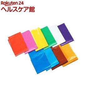 カラービニール袋 赤(10枚入)