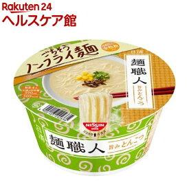 日清麺職人 とんこつ ケース(81g*12個入)【日清麺職人】