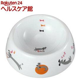犬用陶製食器 わんこの1日 Sサイズ DP-812(1コ入)