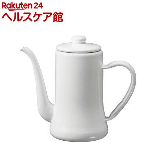 月兎印 スリムポット 1.2L ホワイト(1コ入)【送料無料】