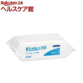 クレシア ワイプオールX60 ハンディワイパー(100枚入)【ワイプオール】