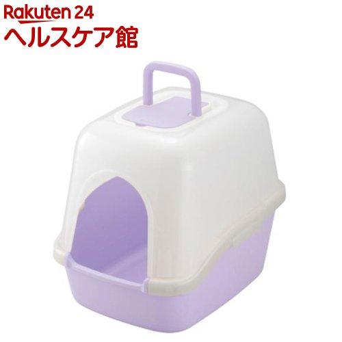 リッチェル コロル フード付ネコトイレ パープル(1コ入)【コロル】
