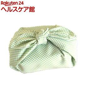 ランチクロス ギンガム 緑(1枚入)