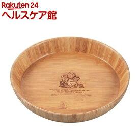 ディズニー 竹製丸型プレート深型 くまのプーさん MA-1631(1枚入)