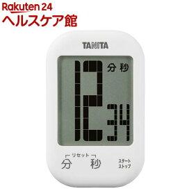 タニタ タッチキータイマー ホワイト TD-413-WH(1コ入)【タニタ(TANITA)】