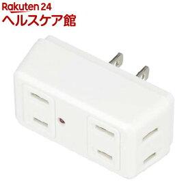 雷ガード付4個口クワトロタップ ホワイト Y02QK400WH(1コ入)