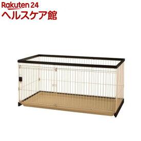リッチェル ペット用 木製お掃除簡単サークル 150-80(1台)