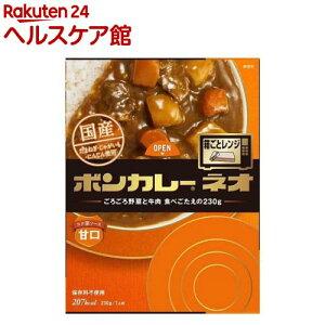ボンカレーネオ コク深ソース甘口(230g)【ボンカレー】
