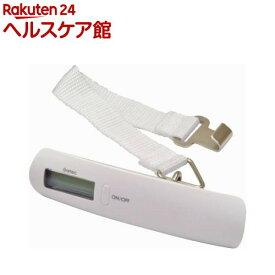 ドリテック 荷物用はかり ホワイト LS-101WT(1コ入)【ドリテック(dretec)】