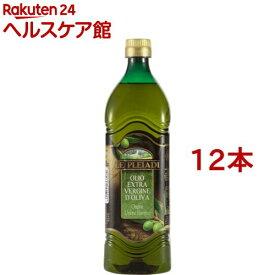 レ・プレイアディ エクストラヴァージン オリーブオイル ペットボトル(1000ml*12本セット)