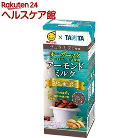 タニタカフェ監修 アーモンドミルク オリジナル(200ml*12本入)【マルサン】