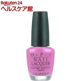 正規品 OPI ネイルラッカー NLA06 ハワイーアン・オーキッド(15mL)【OPI(オーピーアイ)】