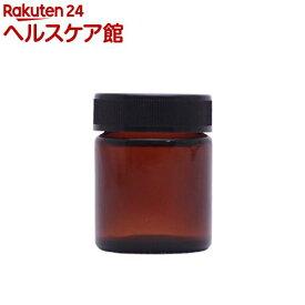 フレーバーライフ クリーム容器 (遮光瓶) 黒キャップ(40g)