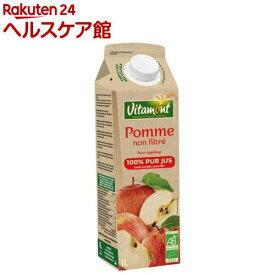 ヴィタモン オーガニック アップルジュース(1L)【spts1】【ヴィタモン】