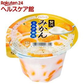 贅沢みかん ミルク寒天(230g*6個入)