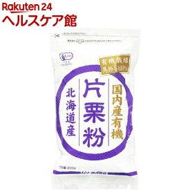 ムソー 国内産有機片栗粉(200g)
