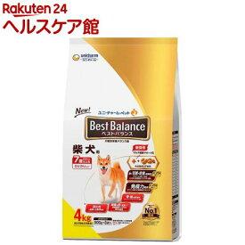 ベストバランス 柴犬用 7歳以上用(4kg)【dalc_unicharmpet】【ベストバランス】[ドッグフード]