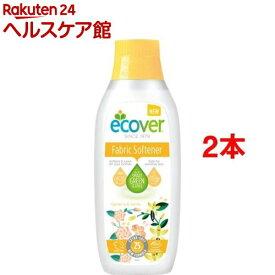 エコベール ファブリックソフナー サン(750ml*2コセット)【エコベール(ECOVER)】[柔軟剤]