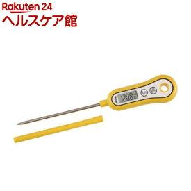 タニタ 料理用デジタル温度計 TT-533-NYL マンゴーイエロー(1セット)【タニタ(TANITA)】