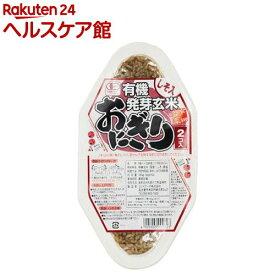 コジマ 有機発芽玄米おにぎり・しそ 21757(90g*2コ入)