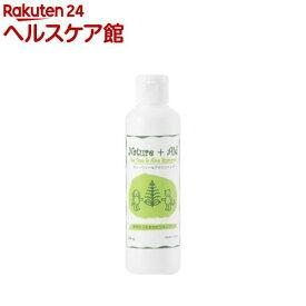 ネイチャーエイド ティーツリー&アロエシャンプー(200ml)【ネイチャーエイド(Nature+Aid)】