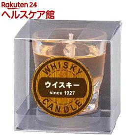 カメヤマ ウイスキーロックキャンドル(1個入)【故人の好物シリーズ】