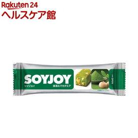 SOYJOY(ソイジョイ) 抹茶&マカダミア(30g*12本入)【SOYJOY(ソイジョイ)】