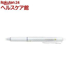 フリクションボール ノック デザインシリーズ ブロックチェック ホワイト(1本入)【フリクション】