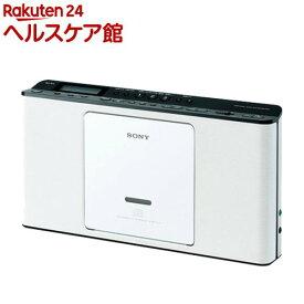 ソニー CDラジオ ZS-E80 ホワイト(1台)【SONY(ソニー)】