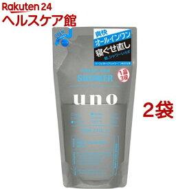 ウーノ パーフェクトヘアシャワー 詰替用(220ml*2袋セット)【ウーノ(uno)】