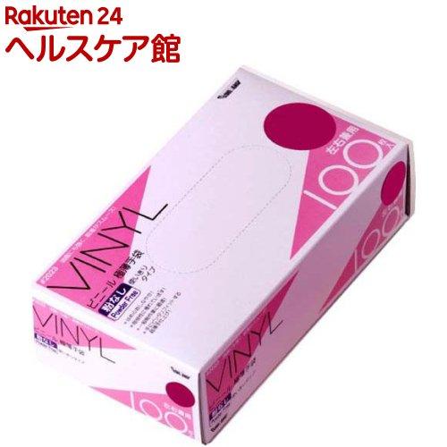 グローブマニア ビニール使い切り手袋 粉なし 2023 クリア M(100枚入)【グローブマニア(GLOVE MANIA)】