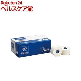 ゼロ・ホワイト コットンバンデージ 非伸縮 38mm*13.75m(12巻)【ゼロテープ(ZERO TAPE)】