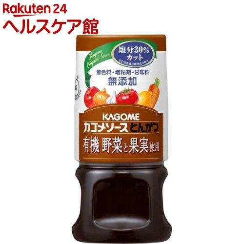 カゴメ 有機野菜と果実使用 とんかつ(160mL)