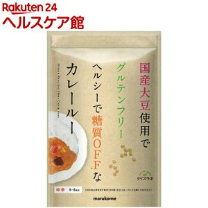 ダイズラボ 大豆粉のカレールー(120g)【more30】【マルコメ ダイズラボ】