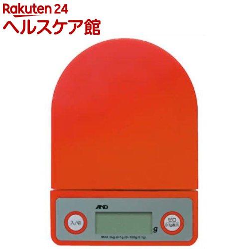 A&D デジタルホームスケール レッド UH-3202R(1コ入)【A&D(エーアンドデイ)】