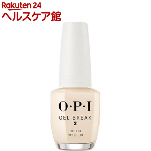 OPI(オーピーアイ) ジェルブレイク ネイルラッカー ベアリー ベージュ NTR05(15mL)【OPI(オーピーアイ)】