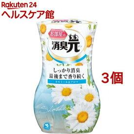 お部屋の消臭元 カモミール&アロマ(400ml*3コセット)【消臭元】