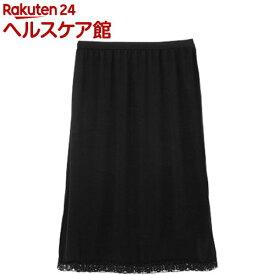 トイレらくらくペチスカート ブラック M-L(1枚)