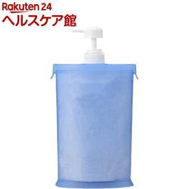 スリムな詰替用お手軽ポンプ ブルー A-02(1コ入)