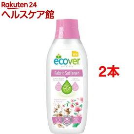 エコベール ファブリックソフナー フラワー 750ml(750ml*2コセット)【エコベール(ECOVER)】[柔軟剤]
