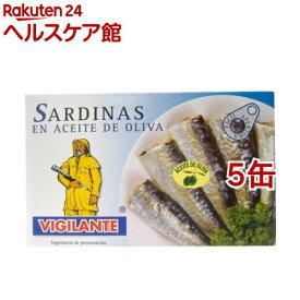 ビヒランテ オイルサーディンL(120g*5コセット)【ビヒランテ】[缶詰]