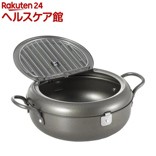 ヨシカワ 天壱 フタ付天ぷら鍋 22cm SJ2135(1コ入)【ヨシカワ】