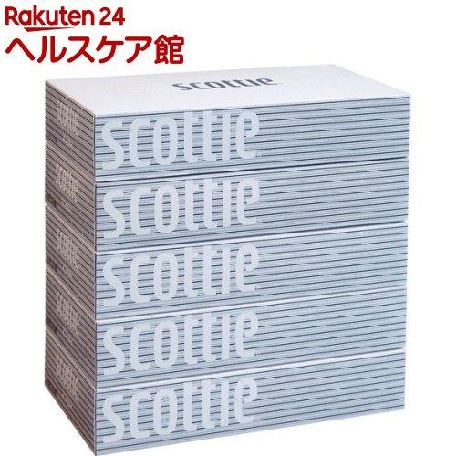 スコッティティシュー(400枚(200組)*5箱パック)【スコッティ(SCOTTIE)】