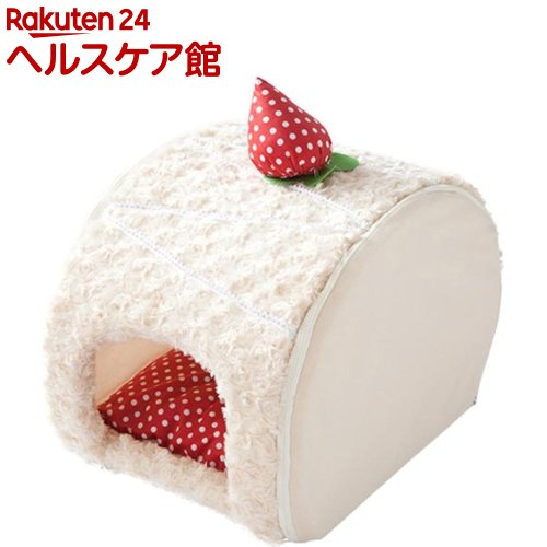 ロールケーキベッド いちごショートケーキ(1コ入)【PuChiko】