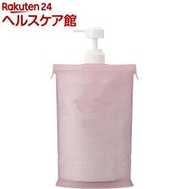 スリムな詰替用お手軽ポンプ ピンク A-02(1コ入)【more20】