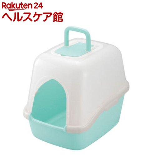 リッチェル コロル フード付ネコトイレ ライトブルー(1コ入)【コロル】