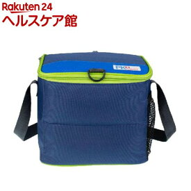 PACKiT(パックイット) 6缶クーラー 5.7L ネイビー/ブルー/グリーン PK2-CC-NVY(1コ入)