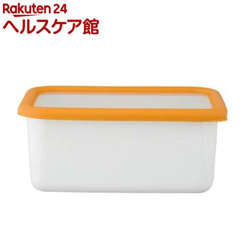 ハニーウェア コンテ 深型角容器 M サフランイエロー KE-DM SY(1コ入)【ハニーウェア】