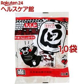五木食品 生タイプうどん スープ付(210g*10コ)【slide_b5】