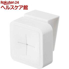 シンク扉タオルホルダー アクア ホワイト(1個)